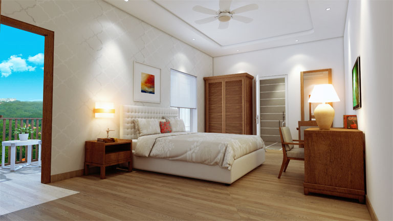 1 BHK Apartment with Study