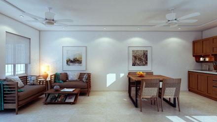 Villa Interior